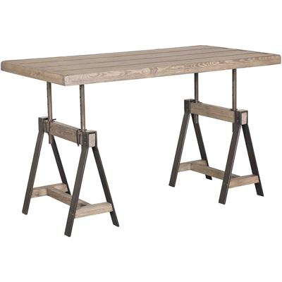 Imagen de Camden Adjustable Height Table Desk, Grey