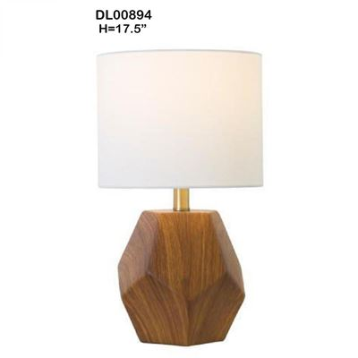 Picture of Wood Look Table Lamp