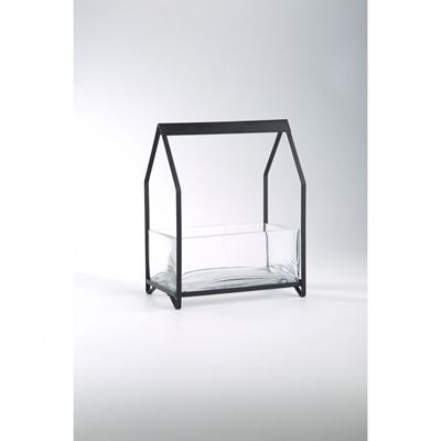 Imagen de Glass Metal Candle Holder