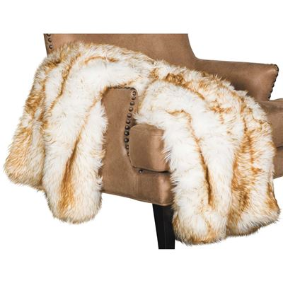Picture of 40x60 Brown Bear Faux Fur Throw