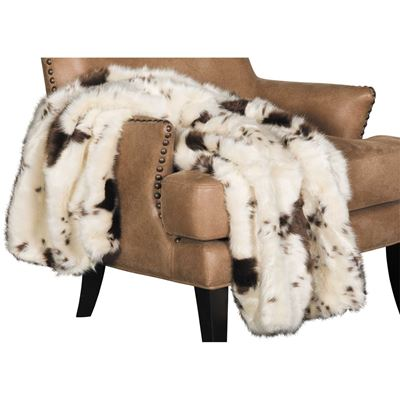 Picture of 40x60 Hari Pony Hide Faux Fur Throw