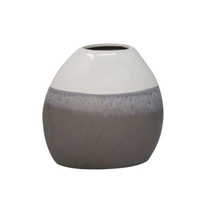 Imagen de Multi Gray Ceramic Vase