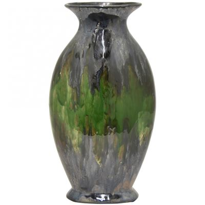 Picture of Grey and Green Ceramic Vase