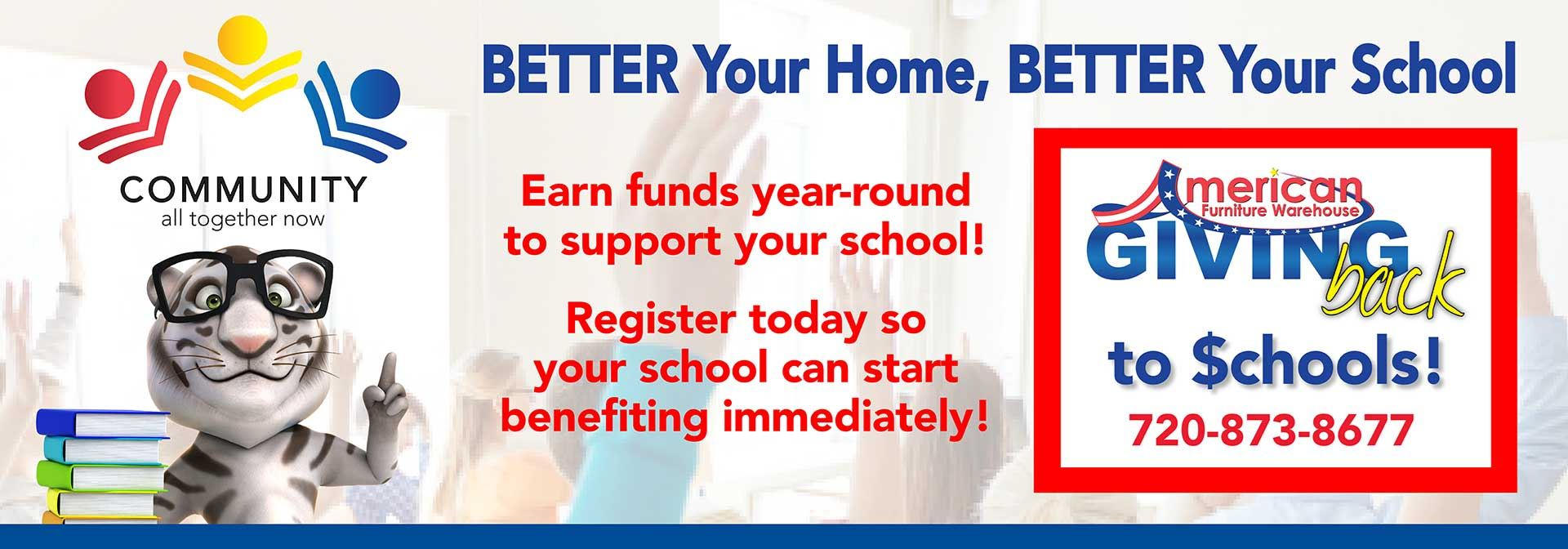 AFW Labor Day Event Earn Funds To Support Your School!