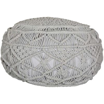 Picture of Kosala Pouf in Harbor Mist