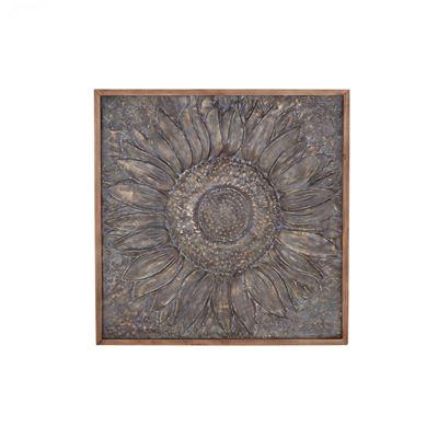 Imagen de Flower Metal Wall Decor