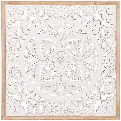 Imagen de White Framed Mosaic Pattern