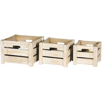 Picture of Set of 3 Wooden Crates