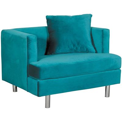 Picture of Cortina Peacock Teal Chair
