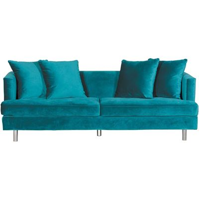 Picture of Cortina Peacock Teal Sofa