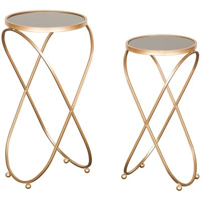 Picture of Gold Accent Table Set