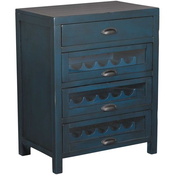 Picture of Wine Server Cabinet, Blue