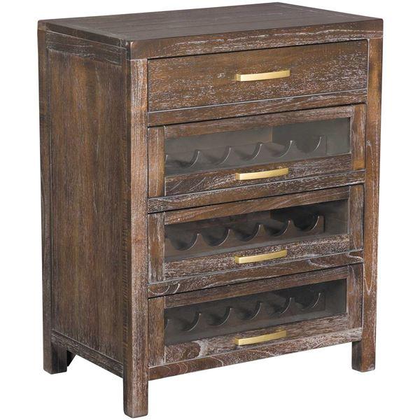 Foto para Wine Server Cabinet, Brown