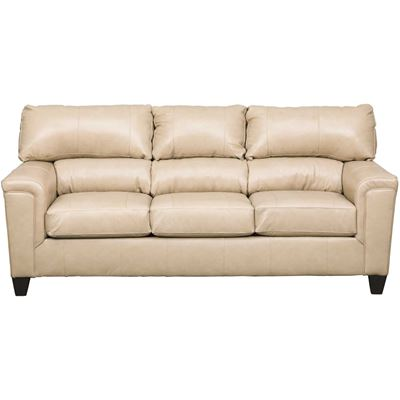 Picture of Graham Putty Leather Sofa