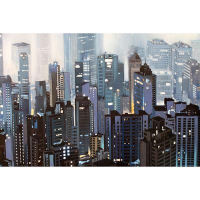 Imagen de Blue Grey Street Scene