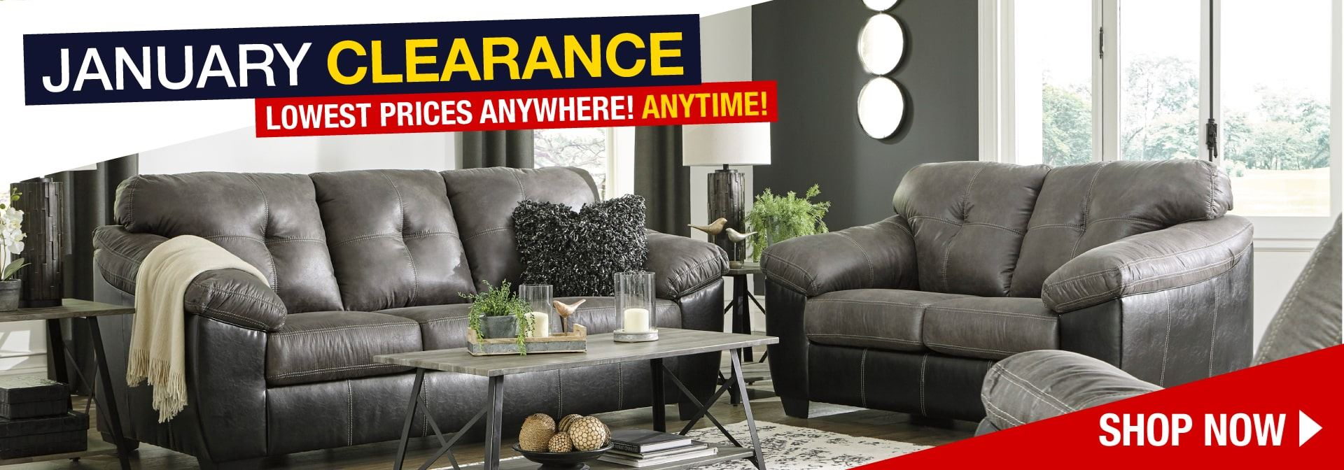American Furniture Warehouse January Clearance Event