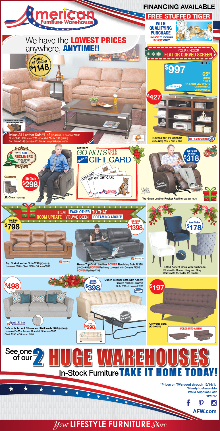 Hot Summer Savings in Arizona Ads | Lowest Prices on Furniture
