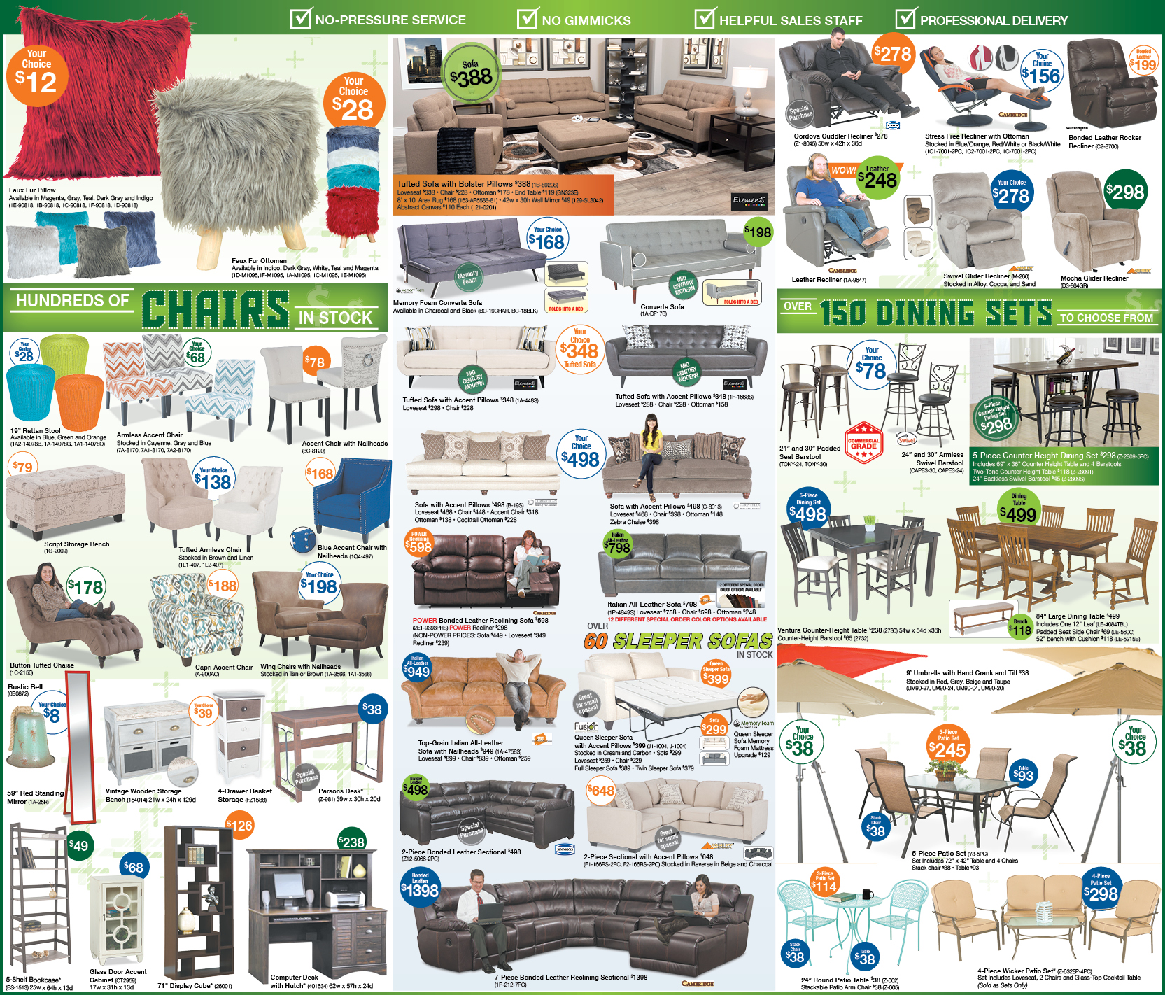 Tax Refund Newspaper Ad | Best Prices on living room furniture