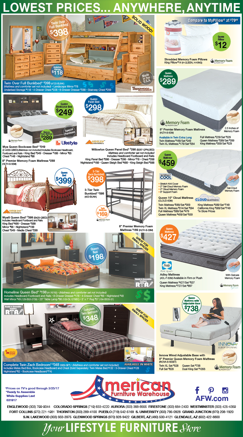 Tax Return Newspaper Ads | Lowest Prices on Furniture