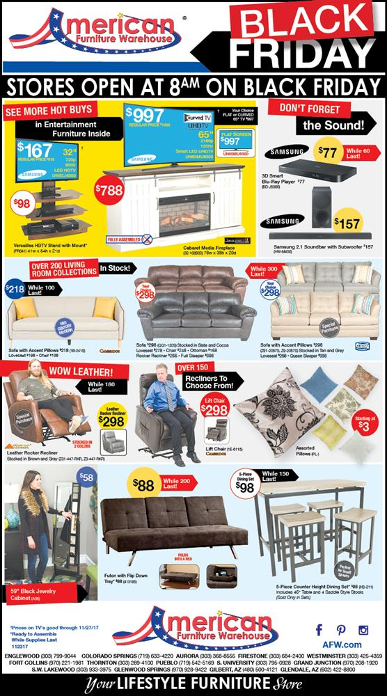 Black Friday Furniture Ad | Best prices on furniture