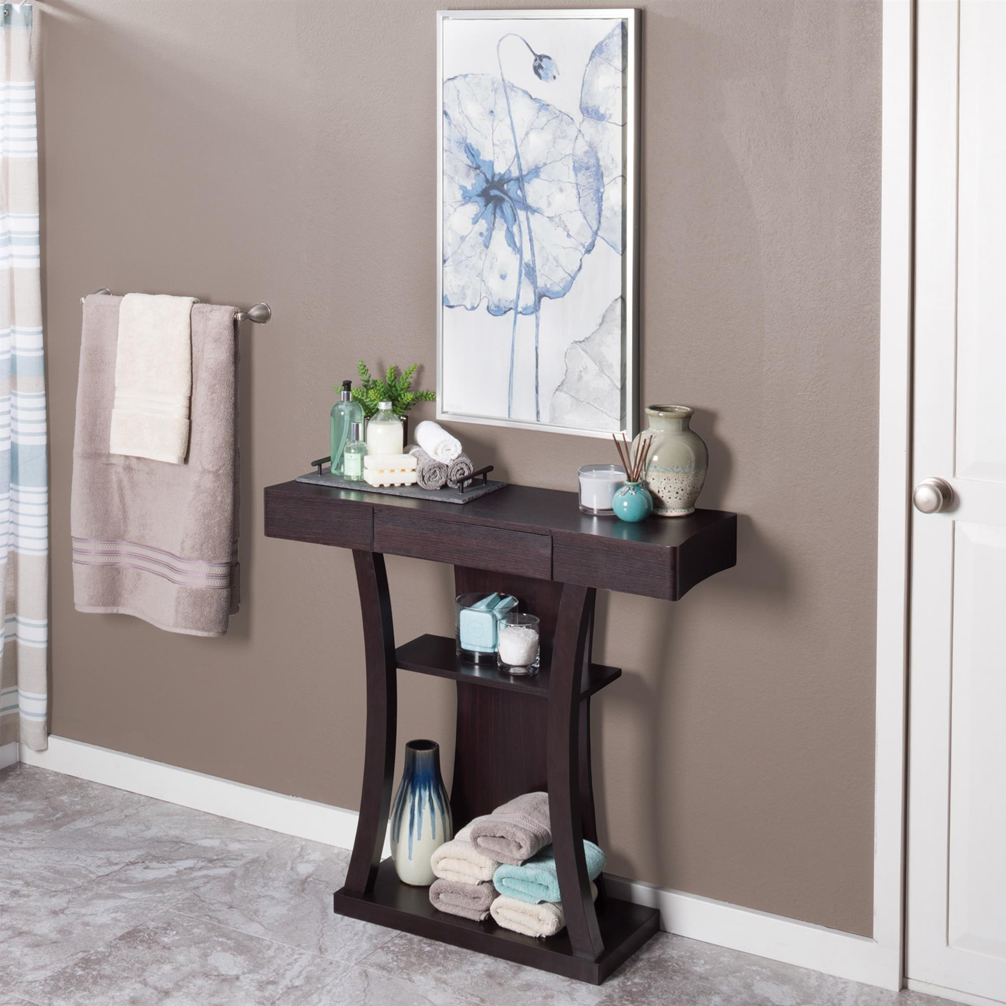 Small Space Bathroom Organization Tips