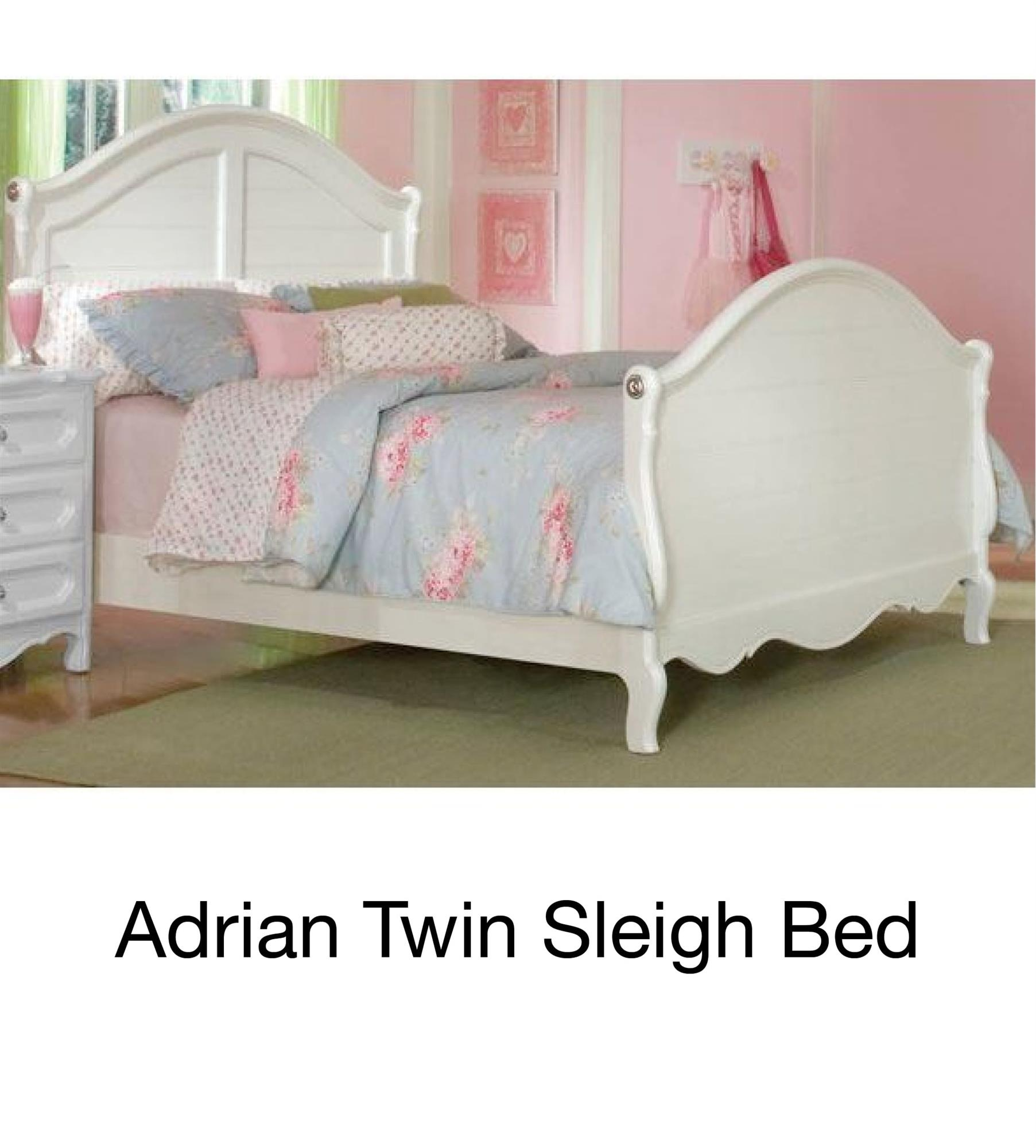 Adrian Twin Sleigh Bed