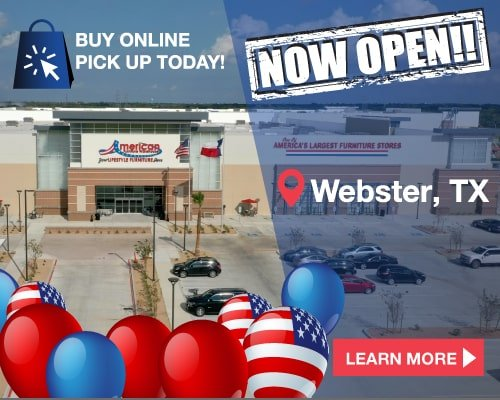 Now Open in Webster, TX!