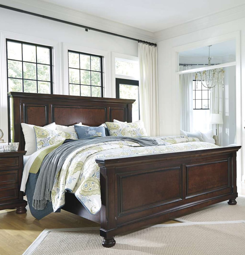 Porter Queen Panel Bed. AFW   Lowest prices  best selection in home furniture   AFW