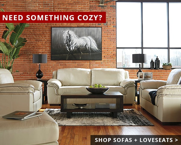 Need Something Cozy?   Shop Sofas