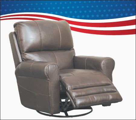 Italian Leather Power Recliner