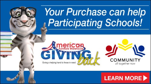 Your purchase can help participating schools! AFW school program. Learn more!