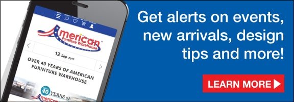 Get alerts on events, new arrivals, design tips and more! Sign up to our newsletter!