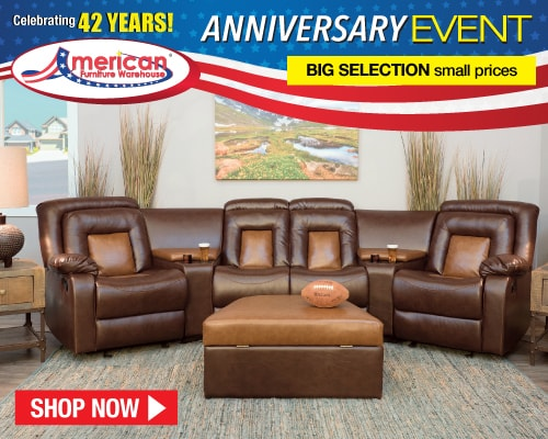 American Furniture Warehouse Labor Day Event