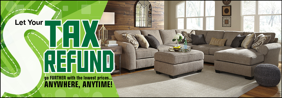 American Furniture Warehouse Tax Refund Event