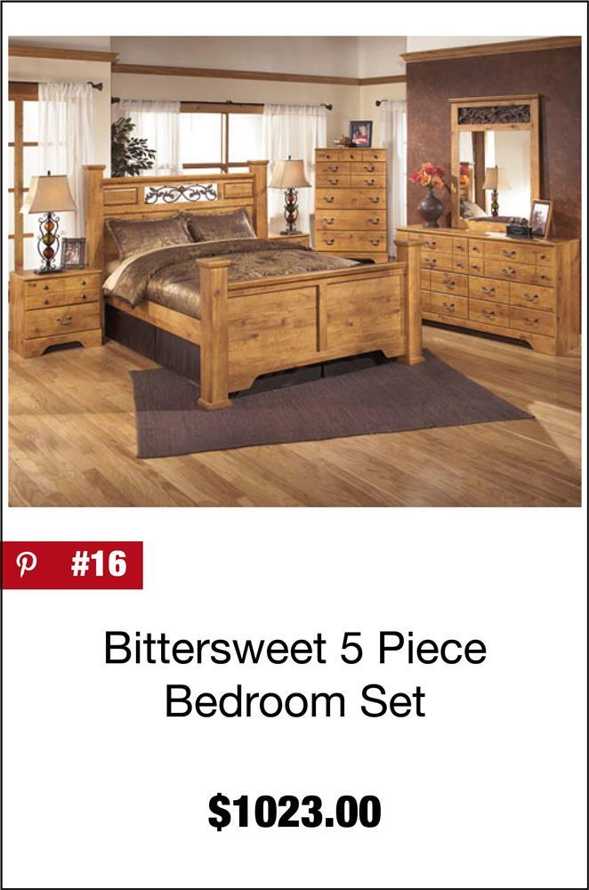 Bittersweet 5 Piece Bedroom Set B219 5PCSET | Ashley Furniture | AFW