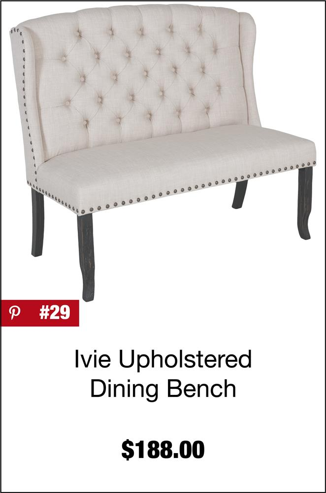 Ivie Upholstered Dining Bench