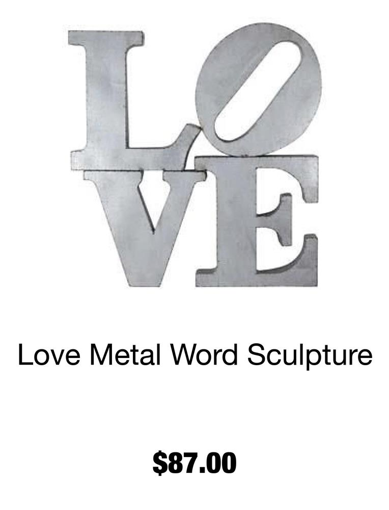 Love Metal Word