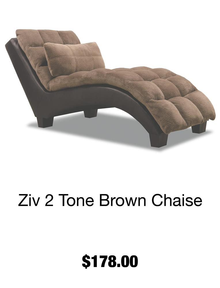 Ziv 2 Tone Chaise