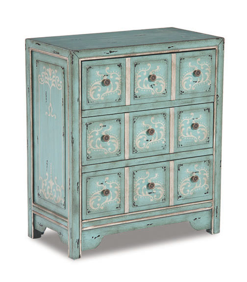Seafoam Accent Chest