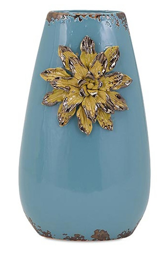 Kimber Blue Flower Vase