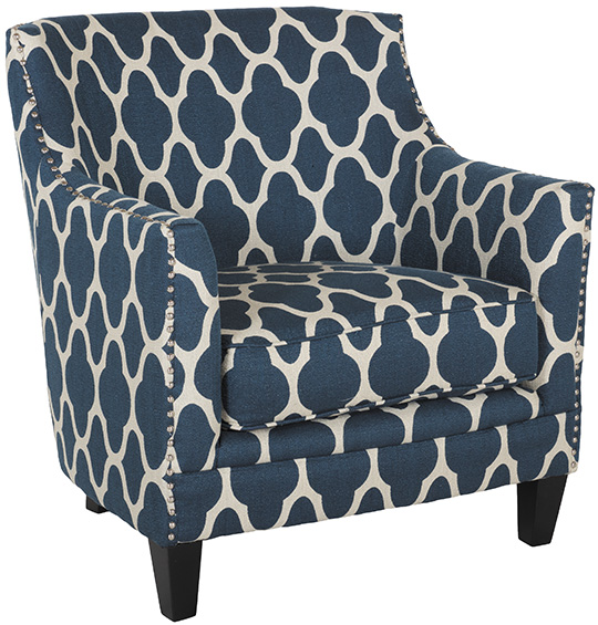 Dinah Navy Accent Chair