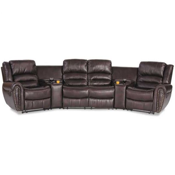 5 Piece Gliding Reclining Sectional