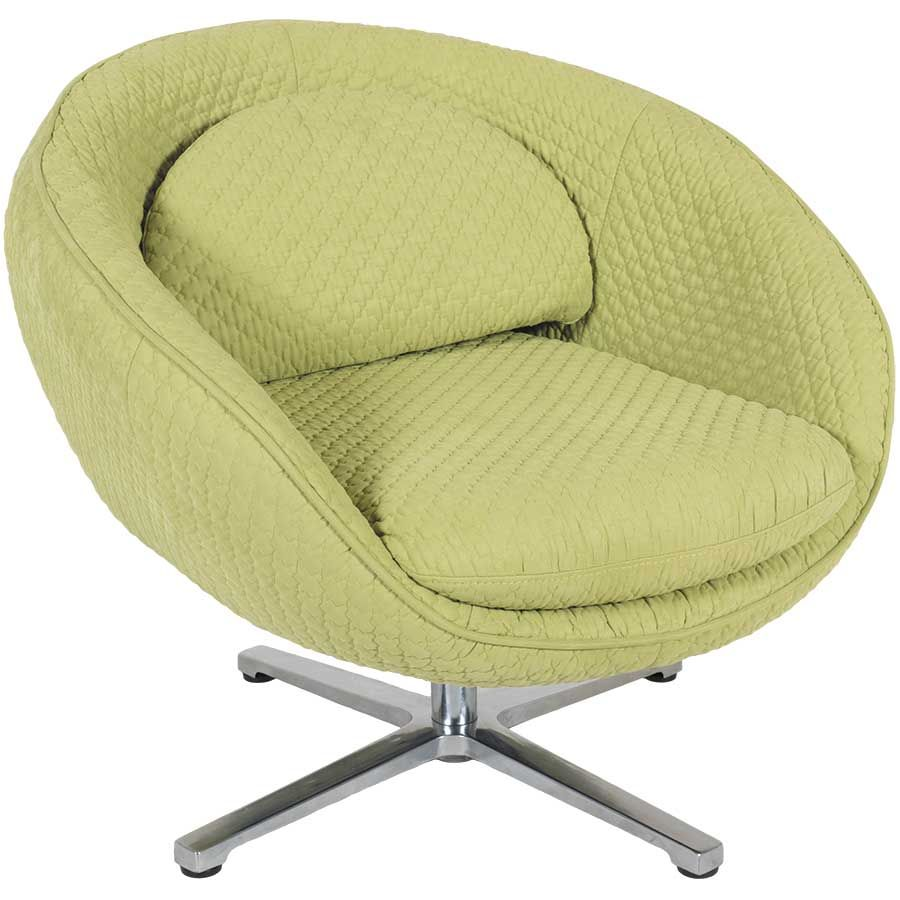 Luna Lime Swivel Chair