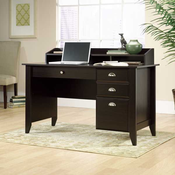 Shoal Creek Computer Desk W/Hutch