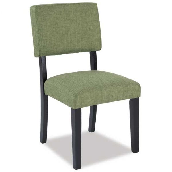 Elias Fern Green Armless Chair