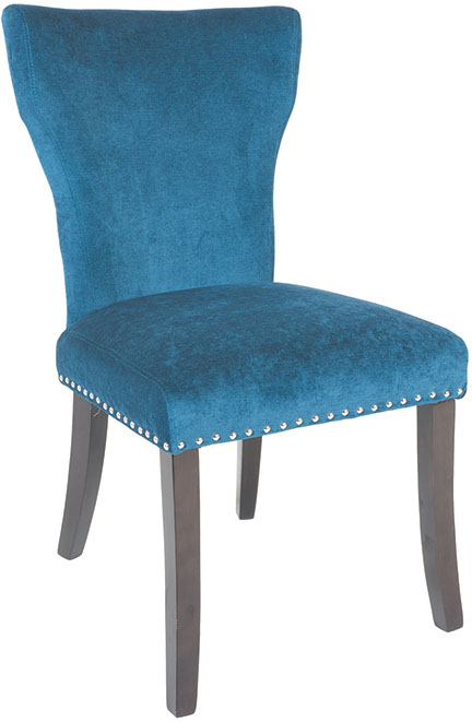 Wing Parson Chair Ocean Fabric