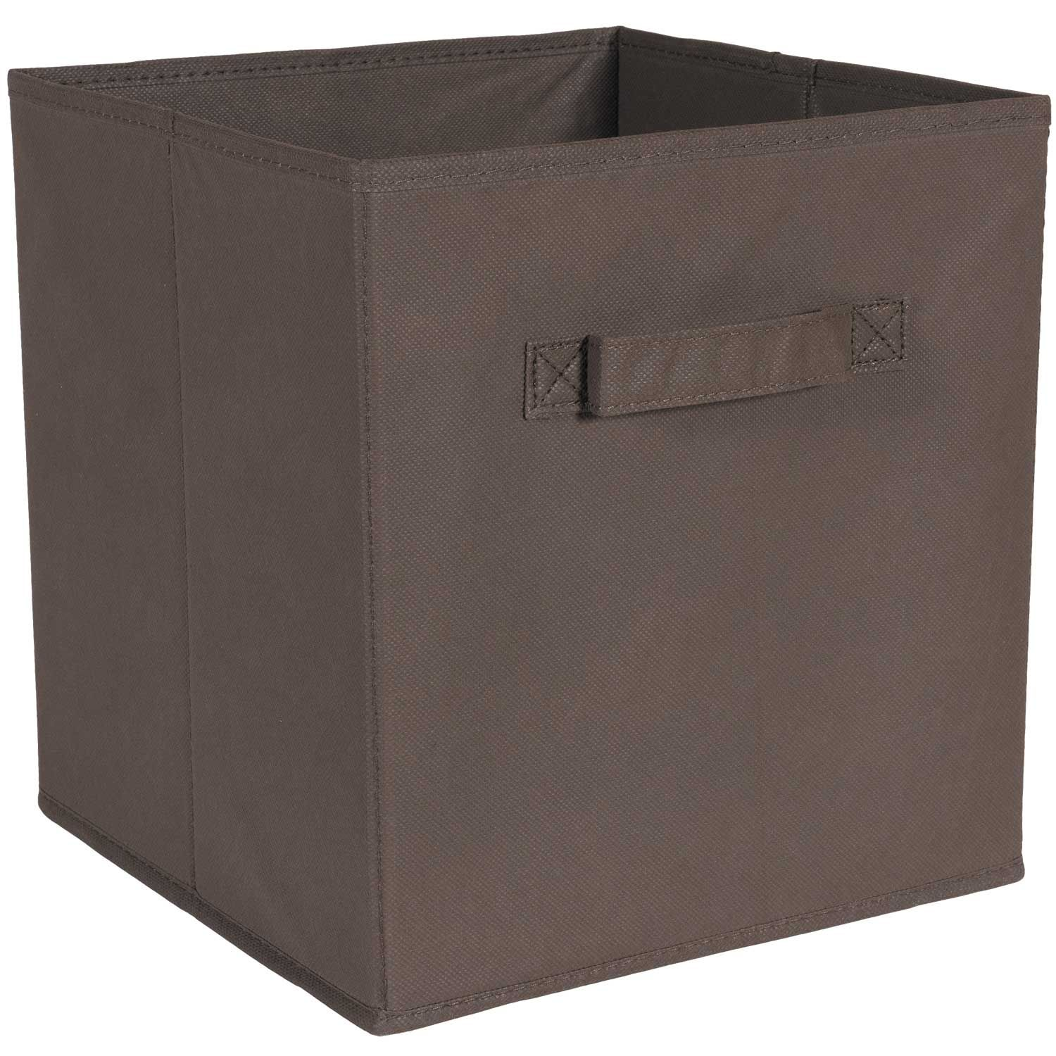 SystemBuild Brown Fabric Bin