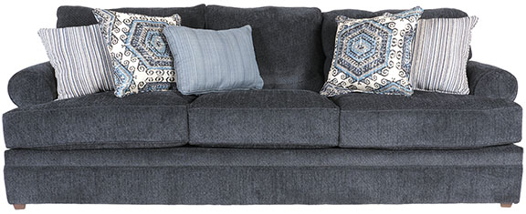 Bellamy Slate Blue Sofa