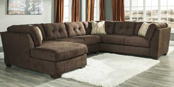 3 Piece Sectional with LAF Chaise