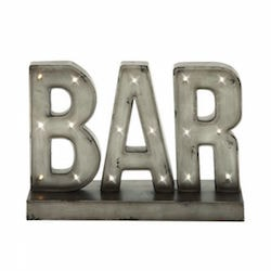 Bar LED Light Wall Decor